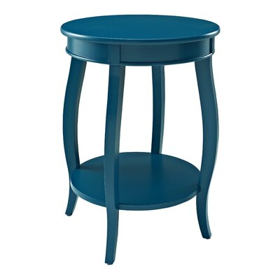 Axtell End Table Color: Teal