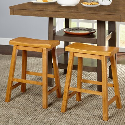 Whitworth 24 Bar Stool Finish: Rustic Oak