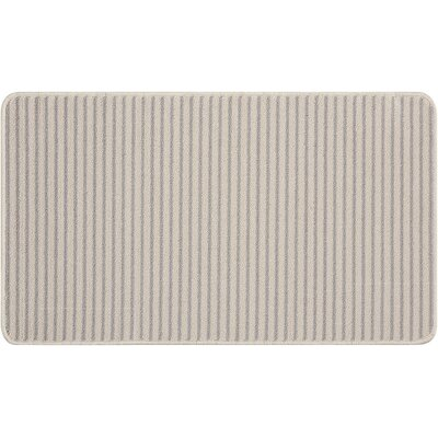 Annawan Hand-Tufted Gray Area Rug Rug Size: Rectangle 18 x 210