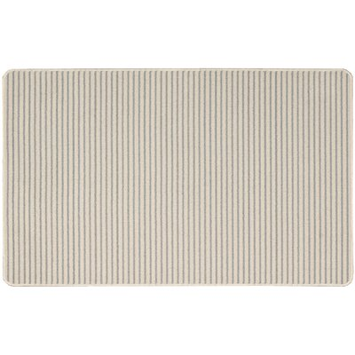 Annawan Hand-Tufted Gray Area Rug Rug Size: Rectangle 26 x 4