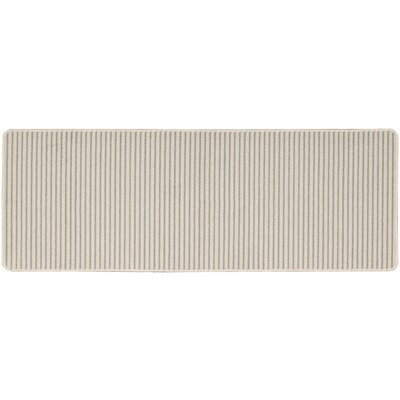 Annawan Hand-Tufted Gray Area Rug Rug Size: Runner 19 x 5