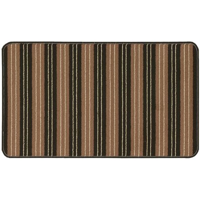 Amboy Hand-Tufted Brown Area Rug