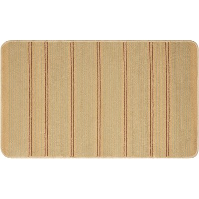 Andress Hand-Tufted Gold Area Rug Rug Size: Rectangle 2 x 34