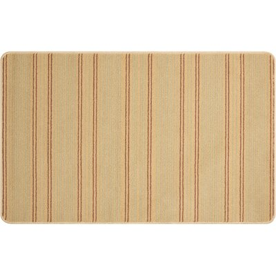 Andress Hand-Tufted Gold Area Rug Rug Size: Rectangle 26 x 4