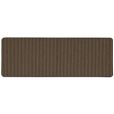 Ammons Hand-Tufted Brown Area Rug