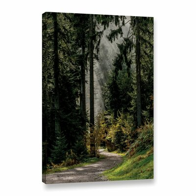 Sumac Twig Photographic Print on Wrapped Canvas