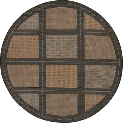 Westlund Cocoa Indoor/Outdoor Area Rug Rug Size: Rectangle 76 x 109