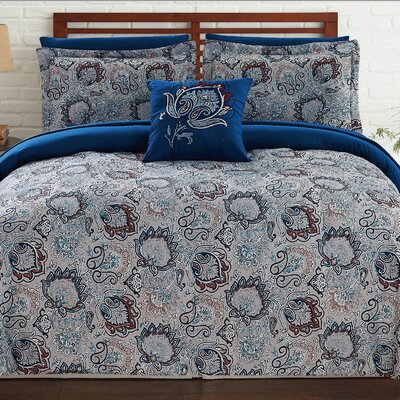 Deerfield Reversible Comforter Set Size: Full