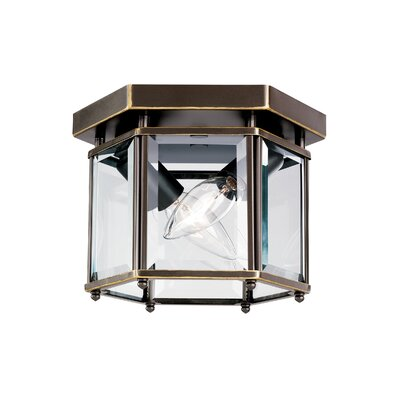 Pinecrest 2-Light Flush Mount Finish: Heirloom Bronze