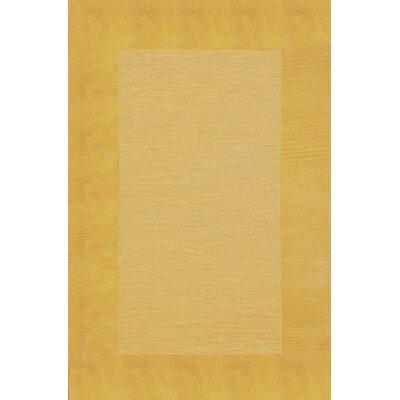 Dewsbury Gold Border Area Rug Rug Size: 2 x 3