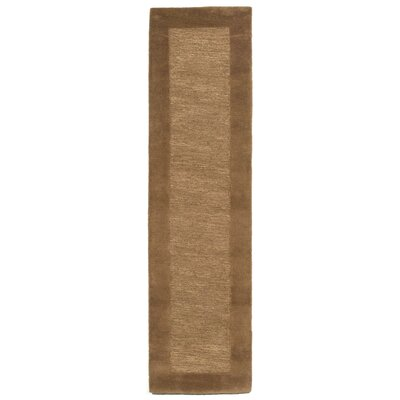 Dewsbury Brown Border Area Rug Rug Size: Runner 2 x 8