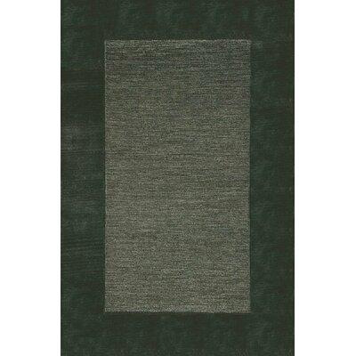 Dewsbury Charcoal Border Area Rug Rug Size: 2 x 3