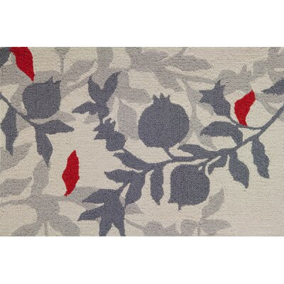 Dellroy Pomegranite Branch Rug