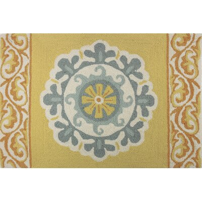 Dominick Medallion Gray/Gold Area Rug