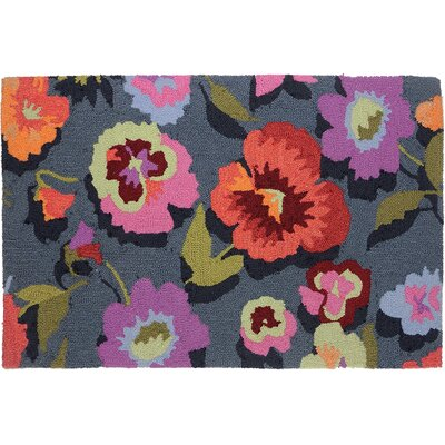 Dellroy Perfect Pansies Area Rug