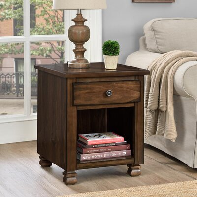 Follansbee End Table Finish: Espresso