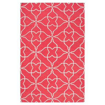 Atkins Pale Jade/Honeysuckle Pink Geometric Area Rug Rug Size: Rectangle 8 x 11