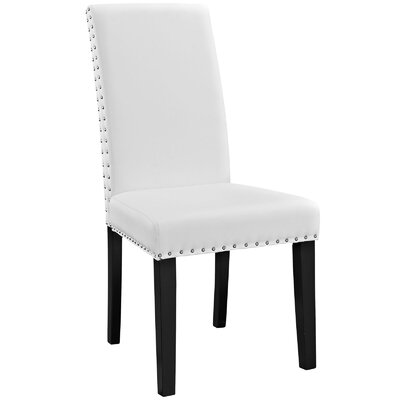 Montrose Side Chair Upholstery: White