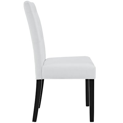 Androscogin Side Chair Finish: White