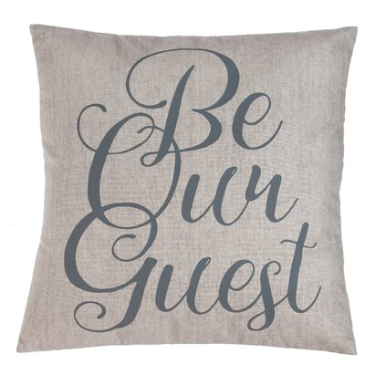 Hunterdon Be Our Guest Throw Pillow