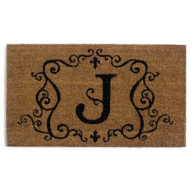 Monmouth Doormat Letter: J