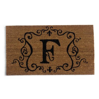 Monmouth Doormat Letter: F