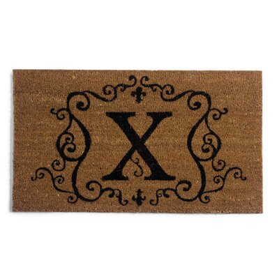 Monmouth Doormat Letter: X