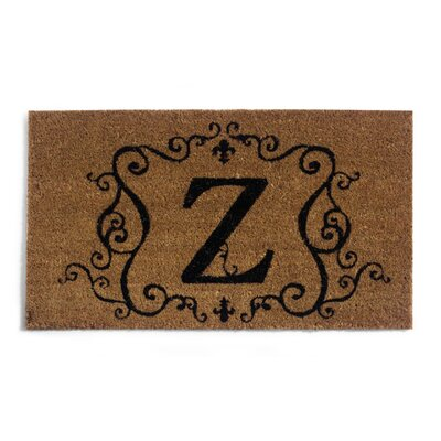 Monmouth Doormat Letter: Z