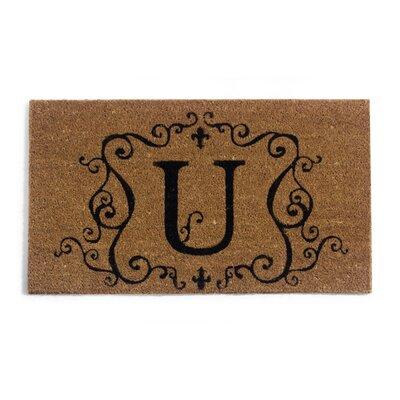Monmouth Doormat Letter: U