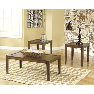 Sagadahoc 3 Piece Coffee Table Set