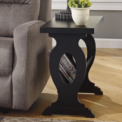 Suffolk End Table in Black
