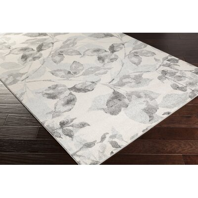Passaic Charcoal/Light Gray Area Rug Rug Size: Rectangle 52 x 76