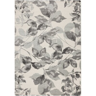Passaic Charcoal/Light Gray Area Rug Rug Size: 52 x 76