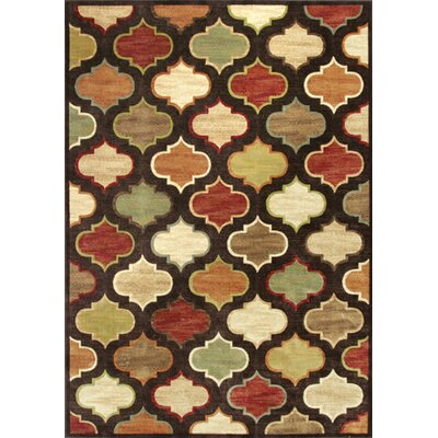 Bluff Canyon Arabesque Area Rug Rug Size: 53 x 77