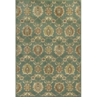 Bluff Canyon Seafoam Allover Tabriz Area Rug Rug Size: Runner 22 x 611