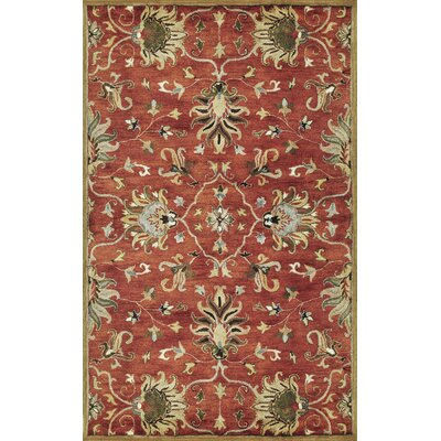 Blarwood Sienna Agra Hand-Woven Wool Area Rug Rug Size: Rectangle 9 x 13