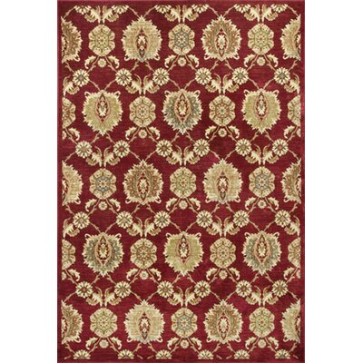 Bluff Canyon Cardinal Allover Tabriz Area Rug Rug Size: 33 x 47