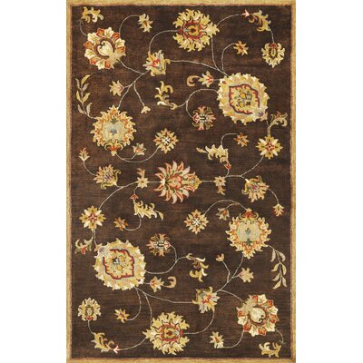 Blarwood Mocha Allover Mahal Rug Rug Size: Rectangle 9' x 13'