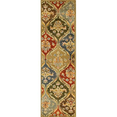 Blarwood Panel Area Rug Rug Size: Runner 23 x 76