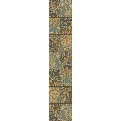 Attamore Blue Fauna Area Rug Rug Size: Runner 22 x 711