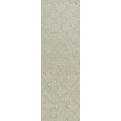 Boleynwood Ivory Arabesque Area Rug Rug Size: 33 x 53