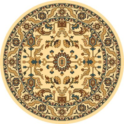 Vandergrift Ivory Serapi Area Rug Rug Size: Rectangle 53 x 77