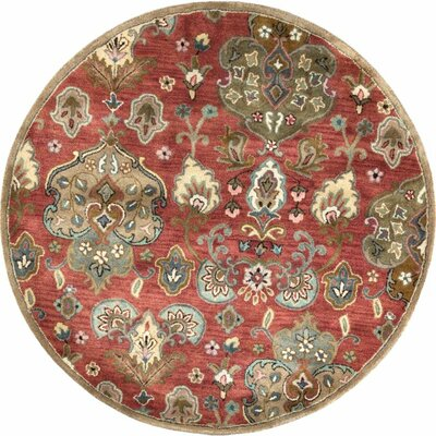 Blarwood Cinnamon Tapestry Area Rug Rug Size: Rectangle 33 x 53