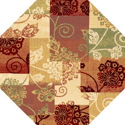 Bellville Multi Delaney Area Rug Rug Size: 23 x 33