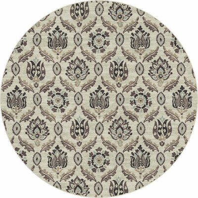 Sprecher Oatmeal Jacardi Area Rug Rug Size: Rectangle 27 x 411