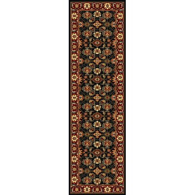 Blanchard Red Mahal Area Rug Rug Size: Rectangle 33 x 53