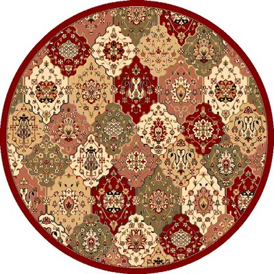 Bellville Jewel Tone Area Rug Rug Size: Rectangle 18 x 27