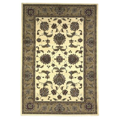 Bellville Ivory & Beige Area Rug Rug Size: Rectangle 77 x 1010