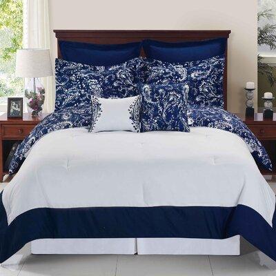 Pautah Reversible Comforter Set Size: Twin