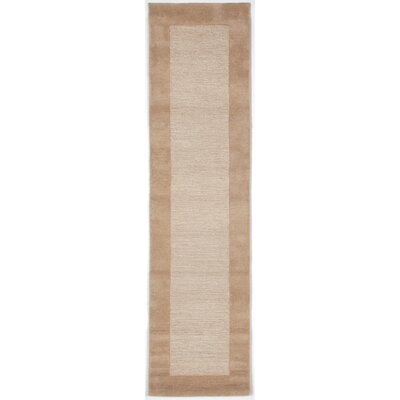 Dewsbury Neutral Border Area Rug Rug Size: Runner 2 x 8